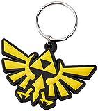 Keychain The Legend Of Zelda - Llavero de Goma Triforce