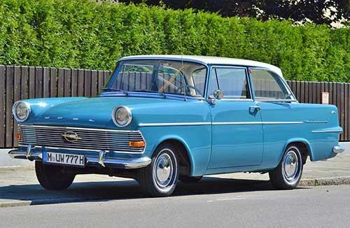 Opel clásico 1960