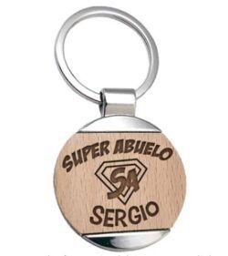 llaveros de madera personalizados baratos